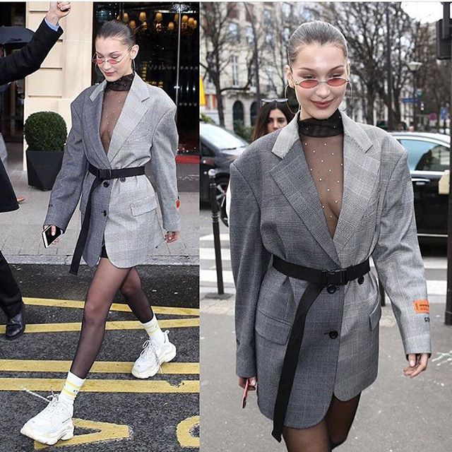 #BellaHadid x #HeronPreston x #Balenciaga #Fashion #Style #RP #TheFashionTea