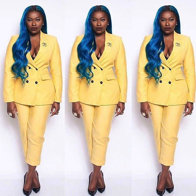 💛 #OloriSwank In #Yellow 💛 #Chanel x #SwankBlue #Fashion #Style #RP #TheFashionTea