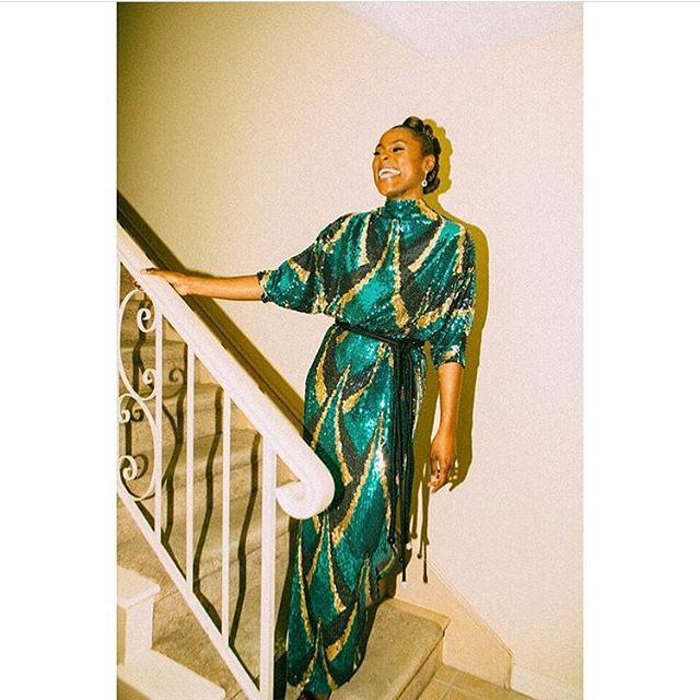 #IssaRae x #MarcJacobs x #YSL For #NAACPImageAwards  #Fashion #Style #RP #TheFashionTea