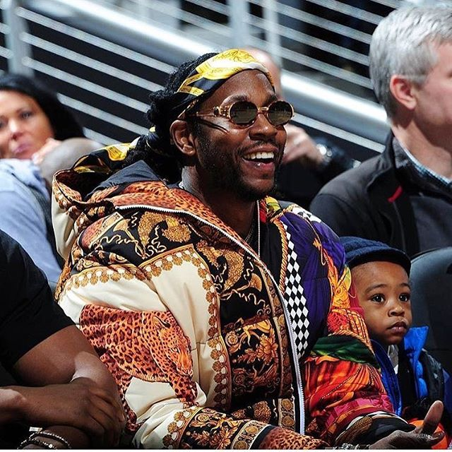 #2Chainz Draped In #Versace #Fashion #Style #RP #TheFashionTea