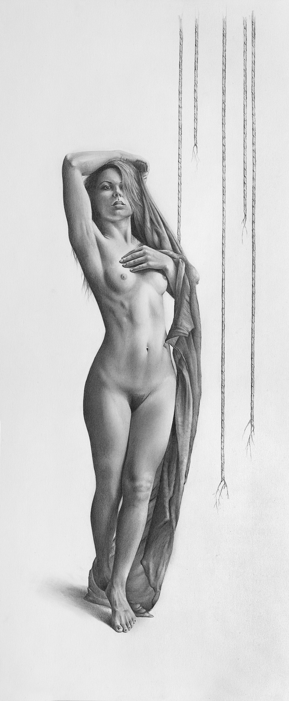 momentum-bill-higginson-artist-graphite-drawing-realism-black-and-white