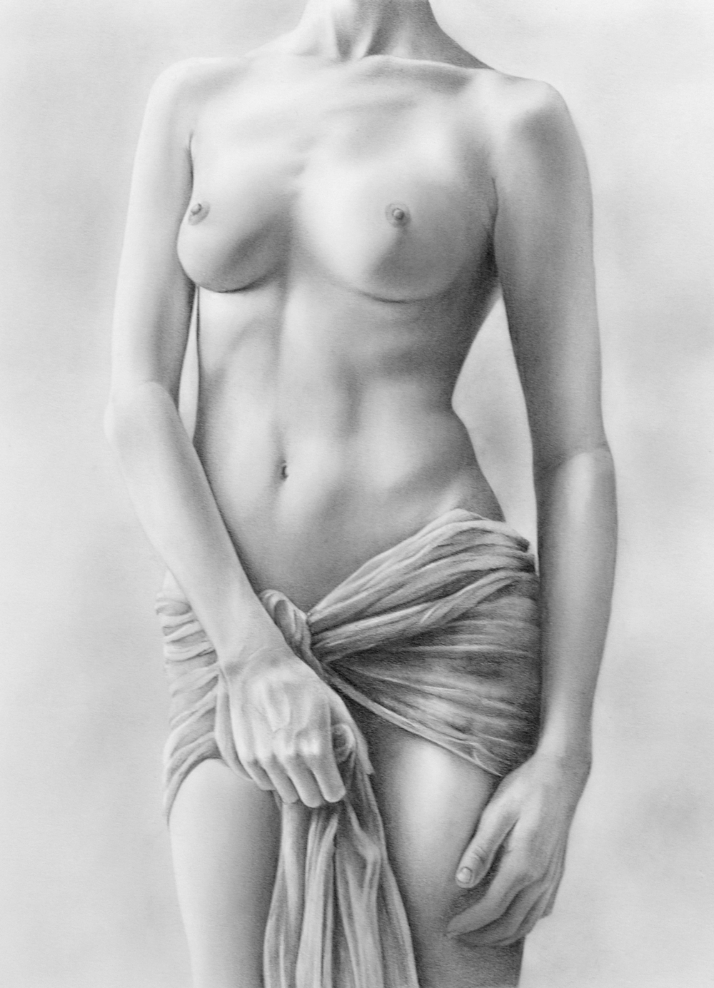 Reveal-bill-higginson-artist-graphite-drawing-realism-black-and-white