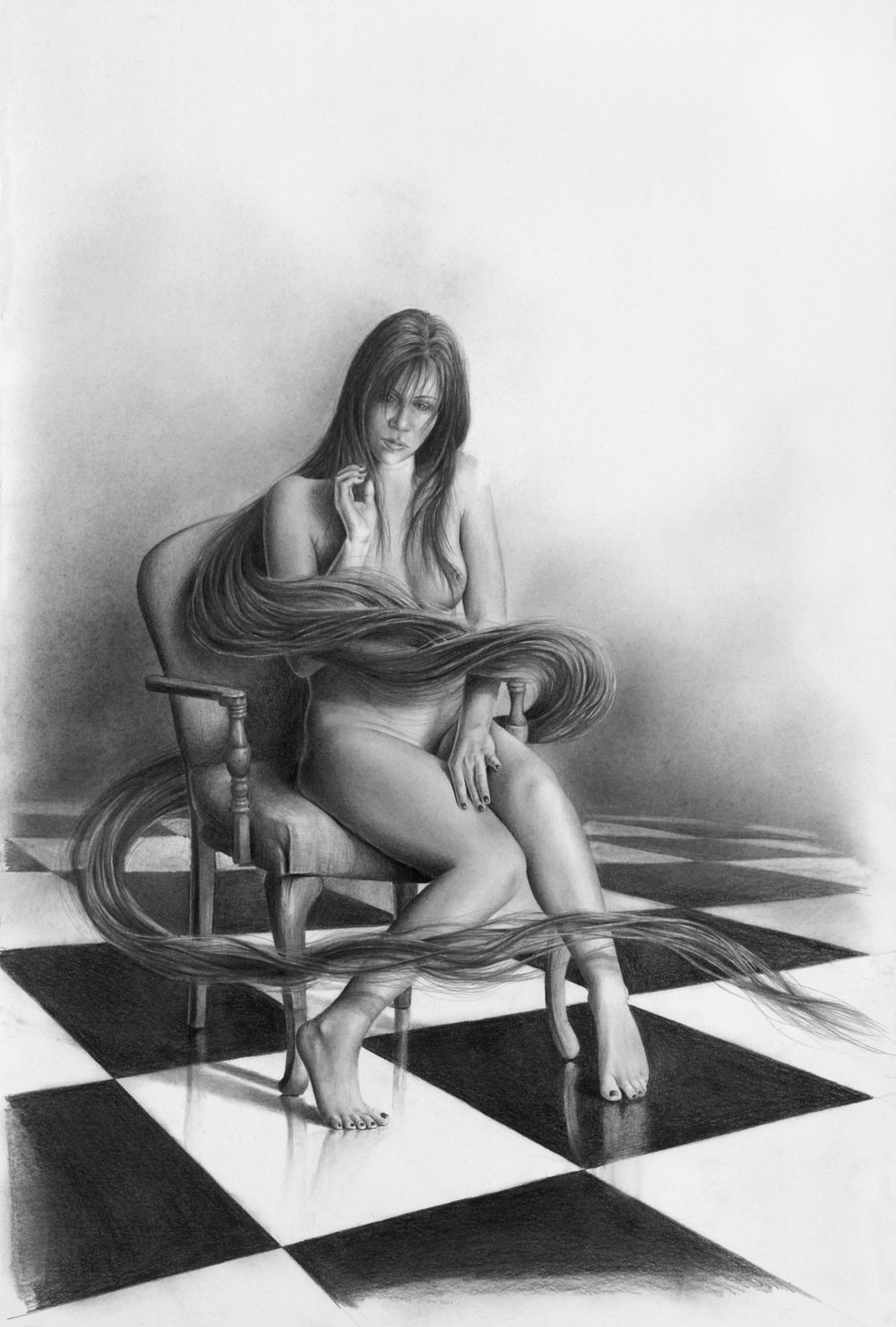 choosing your strength-bill-higginson-artist-graphite-drawing-realism-black-and-white