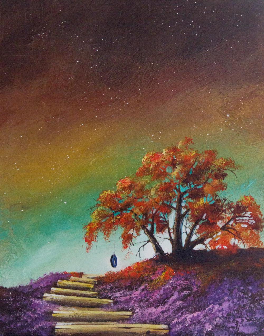 The Sweet Spot-Happy tree series acrylic on canvas painting.jpg