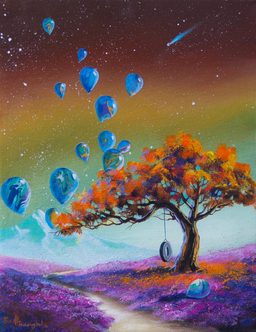 bill-higginson/art/blue-balloons/fantasy-landscape-surrealism