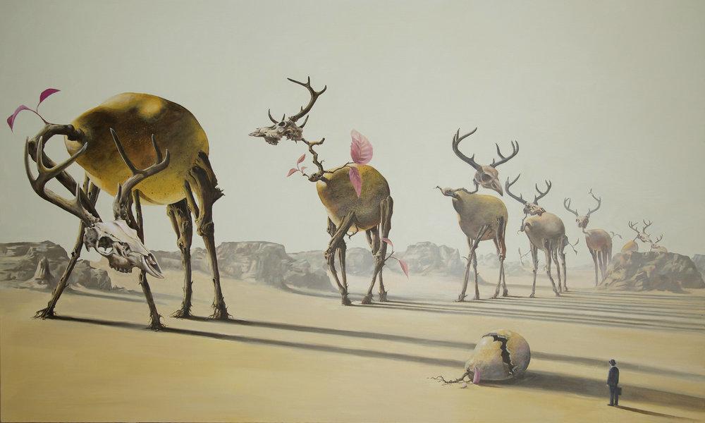 Metamorphosis-contemporary-surrealism-art-acrylic-painting-vancouver-artist-william-higginson