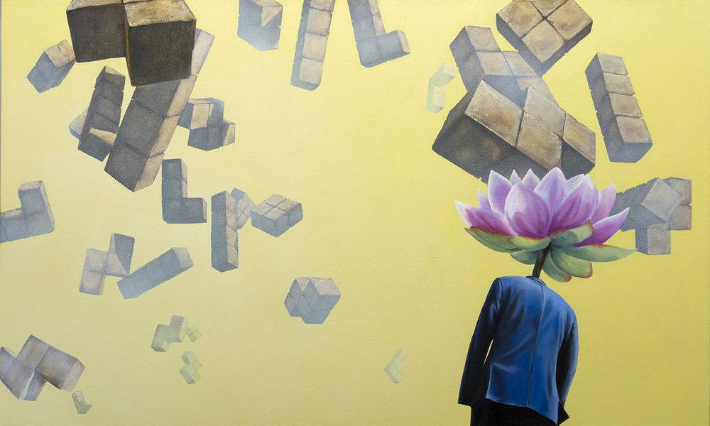 w1 - A Hard Reign's Gonna Fall - William D. Higginson - surrealism art.jpg