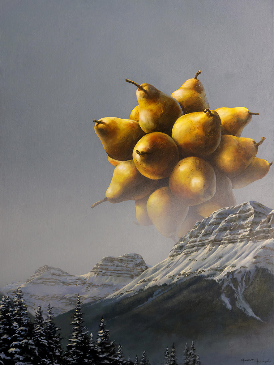 w1 - Polar Pear 2 - William D. Higginson - surrealism art.jpg
