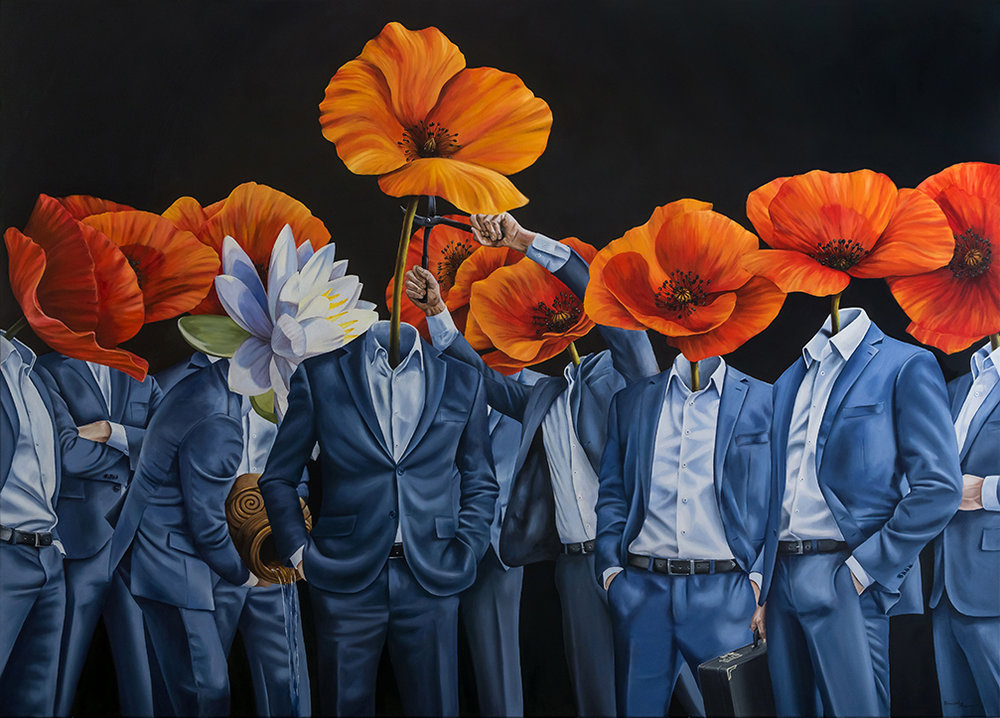 william higginson surrealism painting poppy suits a zero game for some web.jpg