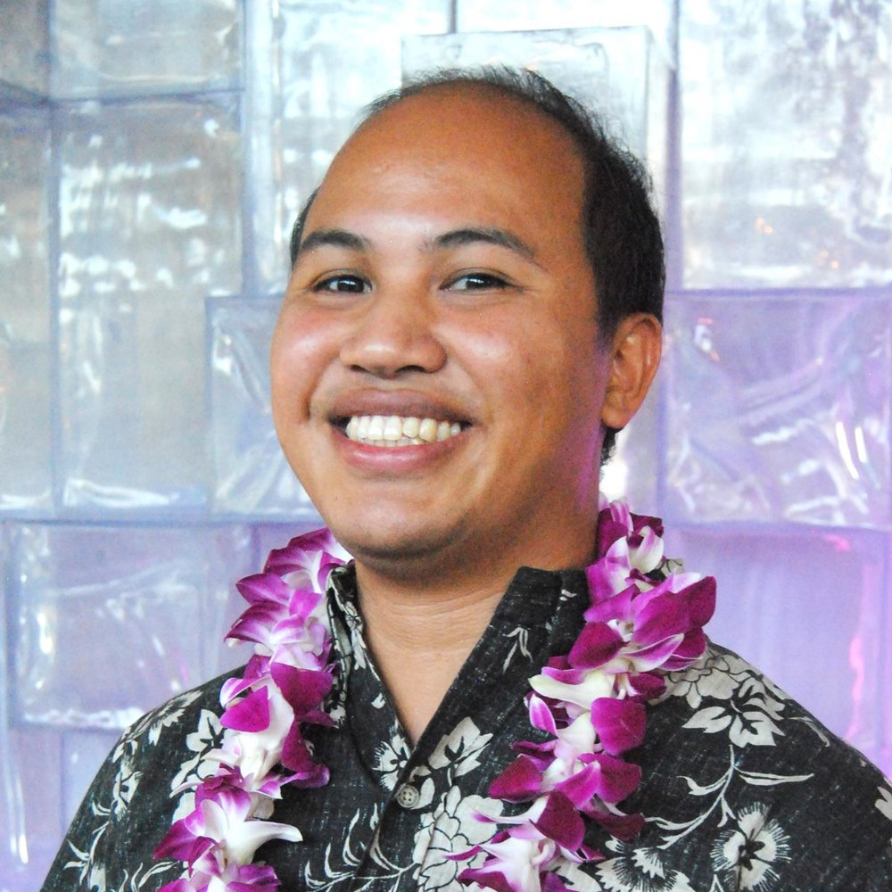 VICE PRESIDENT    Roann Gatdula   Graphic Designer Hagadone Hawaii        If you had to pitch yourself for a reality show? What would it be?    Mr. Aloha: The Asian Sensation.