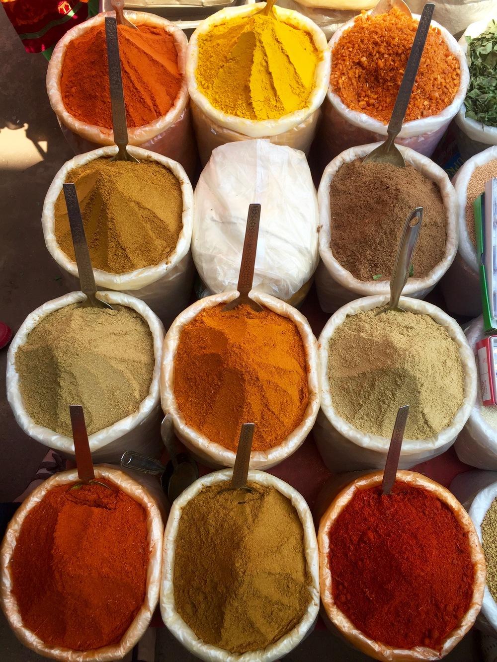 Spices @ Mapusa Market, Goa