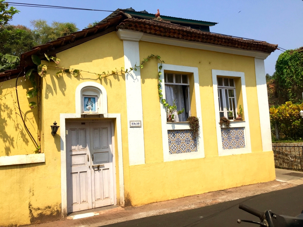 Old Portuguese home in Panaji