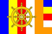 Buddhist_flag_with_Dharma_wheel badge.png