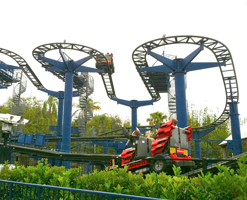 RIDE - FOR US, LEGO TECHNIC COASTER