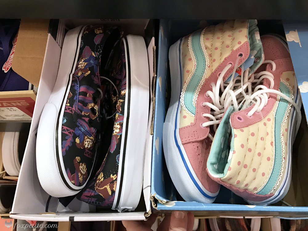 Fox Petite - Vans Toy Story Bo Beep and Donkey Kong shoes