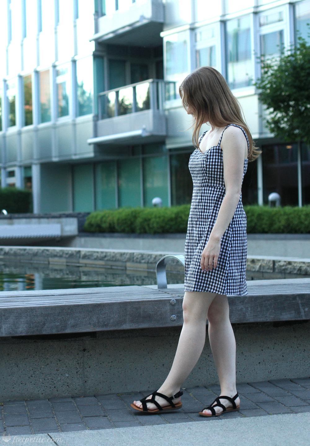 f6ccca00a453 Black And White Striped Shirt Dress Brandy Melville