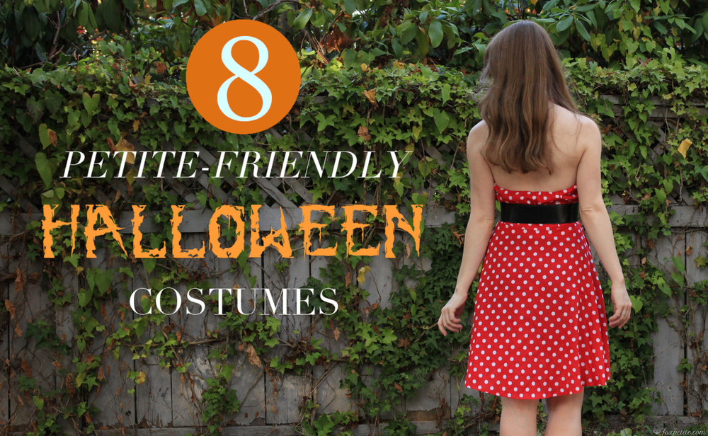 DIY Petite Friendly Halloween Costumes - Fox Petite Blog