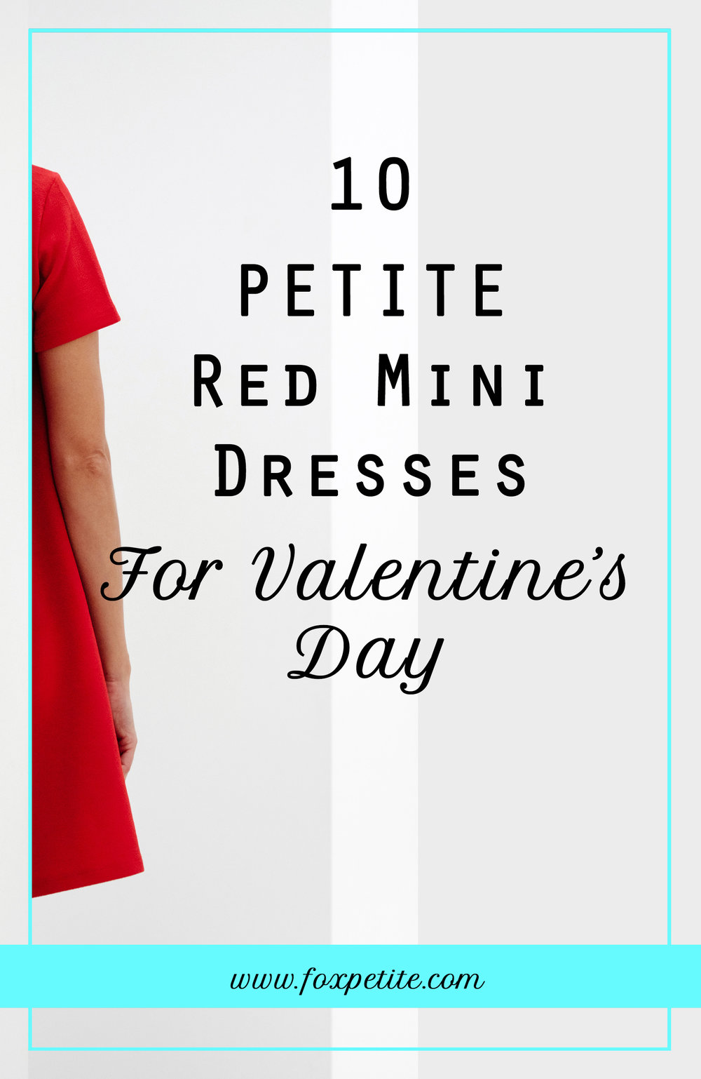 10 Petite Red Mini Dresses for Valentine's Day | blogger Fox Petite shares 10 dresses in petite sizes to get prepared for the February holiday | petite style and fashion tips blog | what to wear on Valentine's Day if you are petite