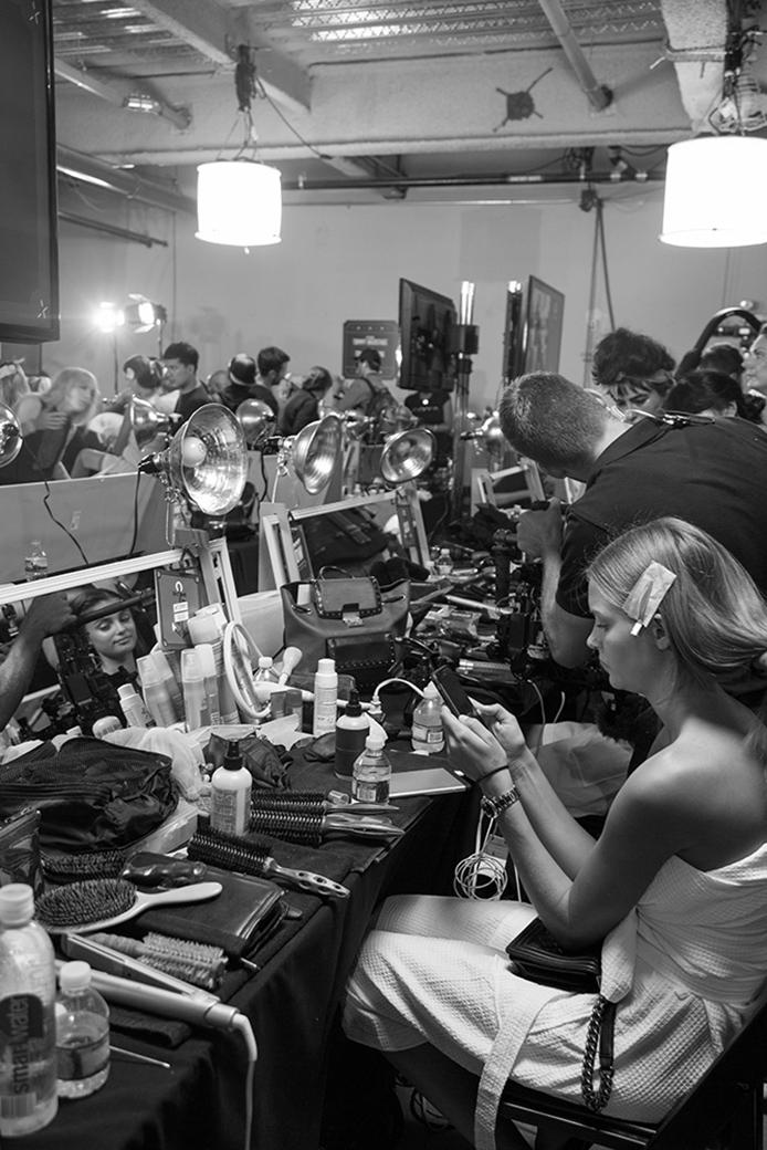 Backstage Fashion Week x Elle Méx