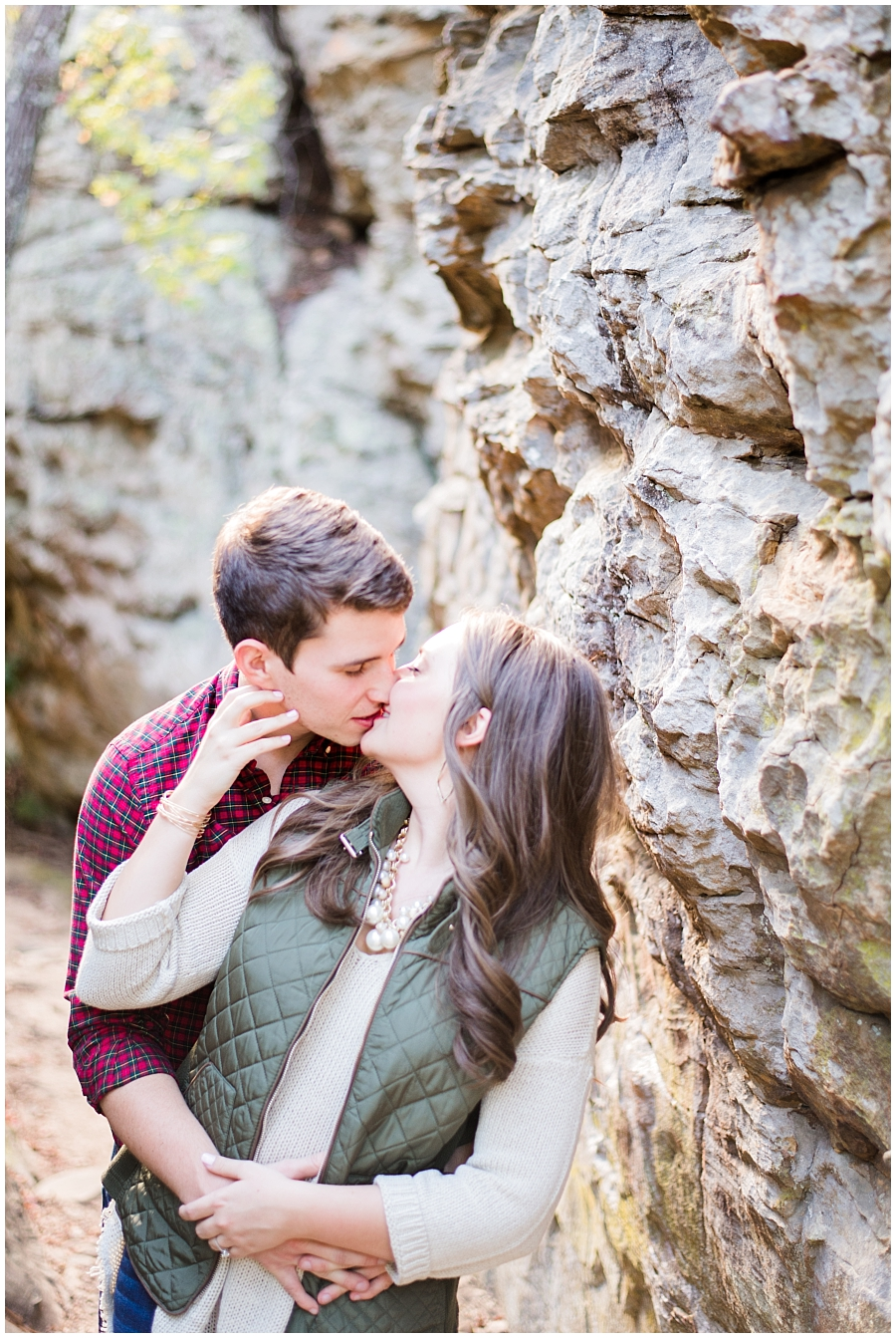 Petit Jean Mountain Engagement Photos- Light & Airy Photography