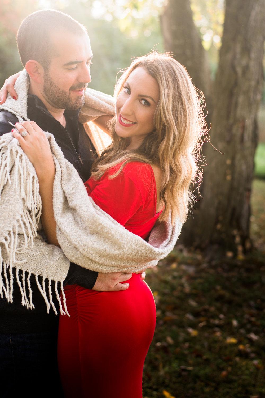 entonville, Arkansas Sunset Engagement Session- Light & Airy Photography