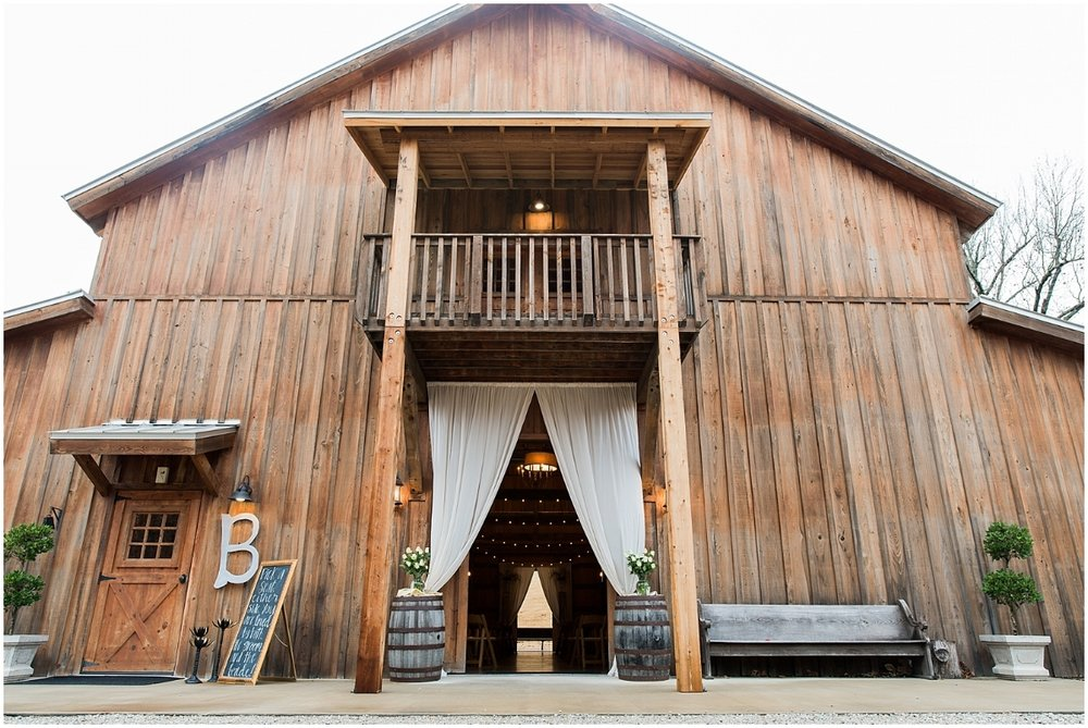 The Silos Wedding Barn in Bono, AR by Natalie Smith Photography