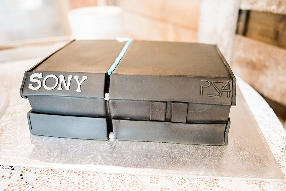 Playstation Groom's Cake