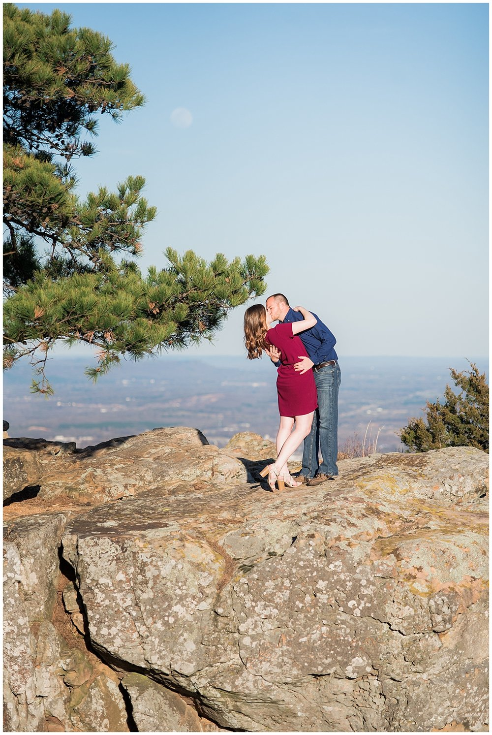 Mountain Engagement Session| Arkansas Light & Airy Wedding Photographer