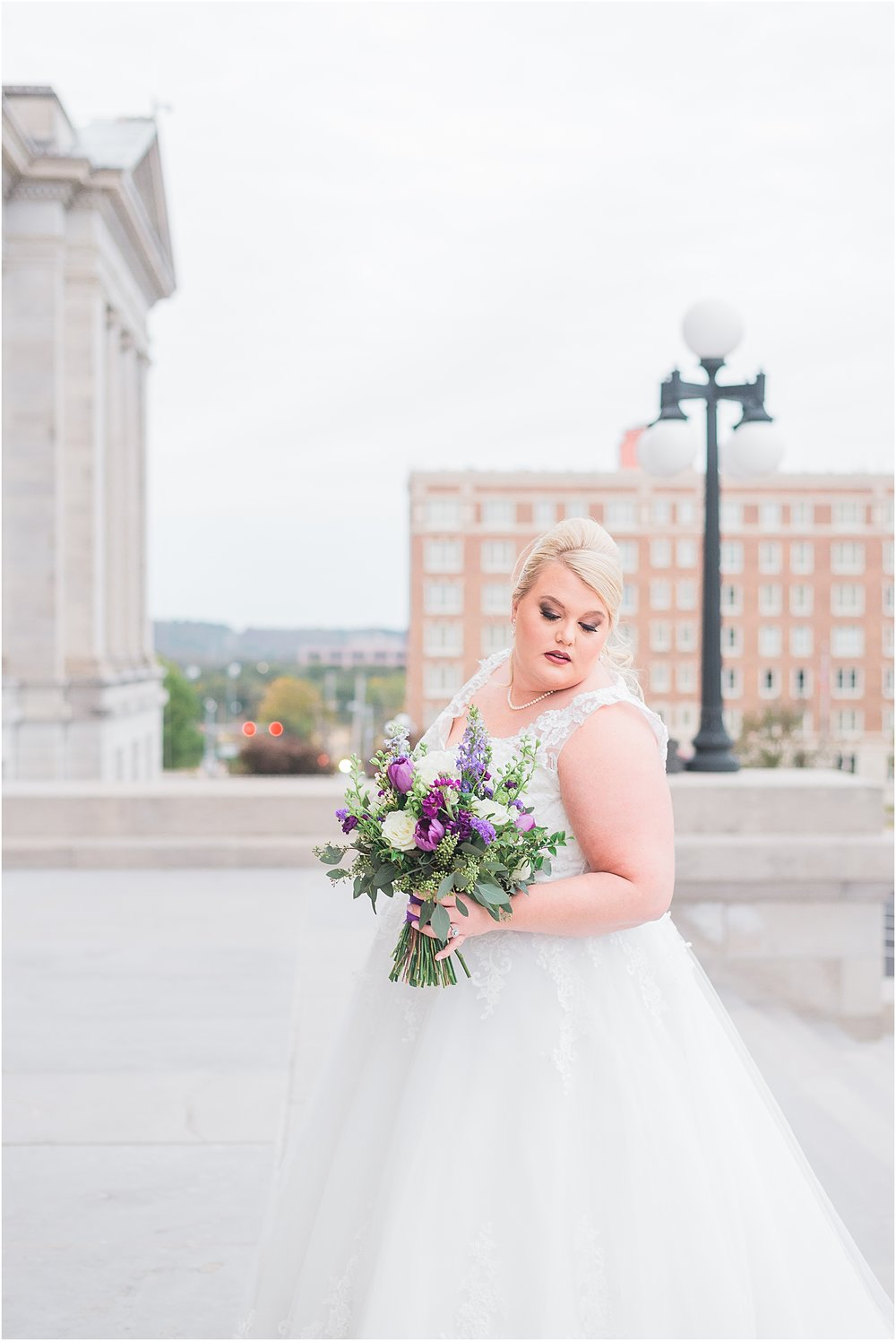 Arkansas State Capitol Building Wedding Photographer