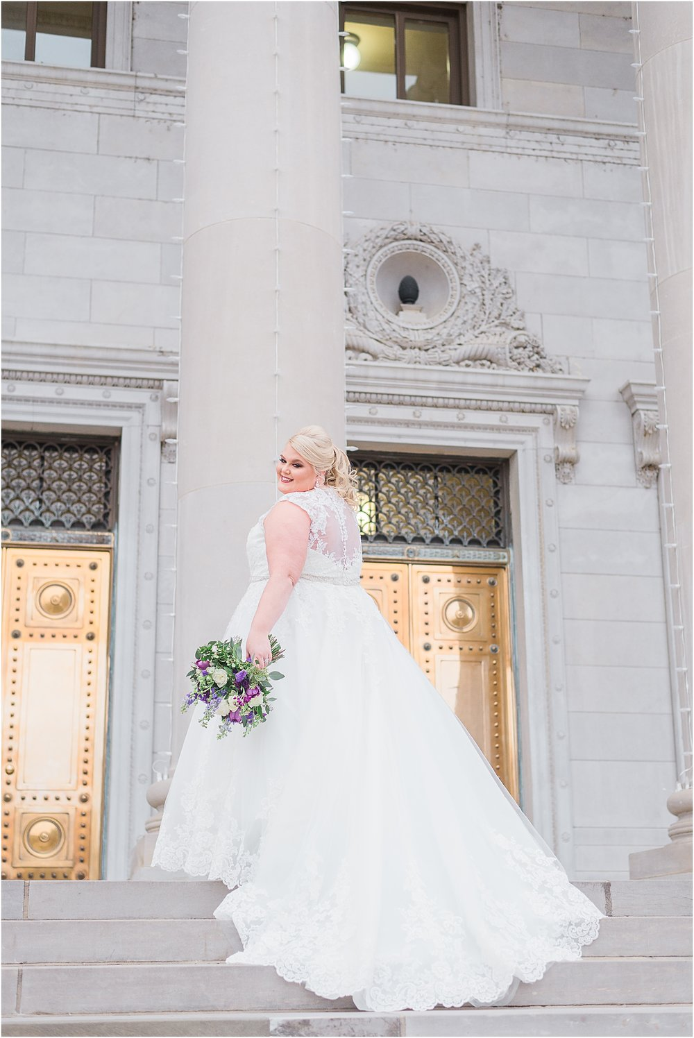 State Capitol bride and wedding photographer