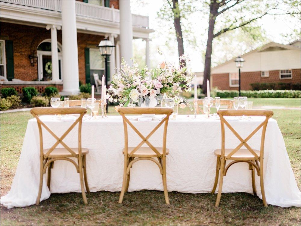Garden Wedding | Russellville, Arkansas | Inspiration Shoot