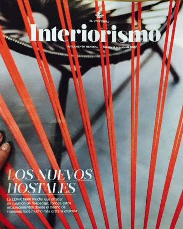 Interiorismo -de EL UNIVERSAL-, 2016.
