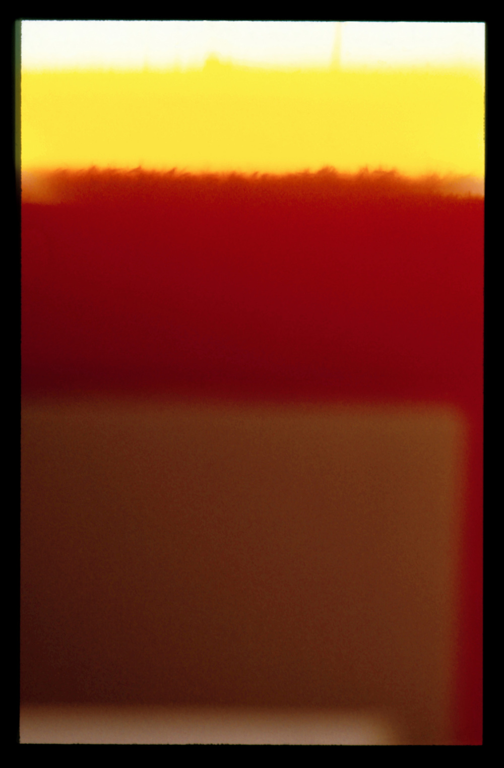Endings (Rothko died today) - Kodachrome 64, No.21. 26/02/1970