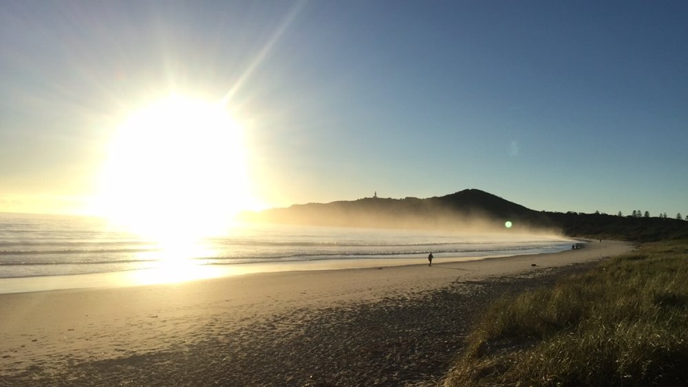 PS How AMAZING is this photo I took one morning on the way toward the Byron Bay lighthouse! ! !