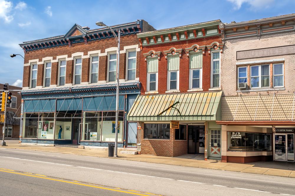 Hesston Kansas Downtown