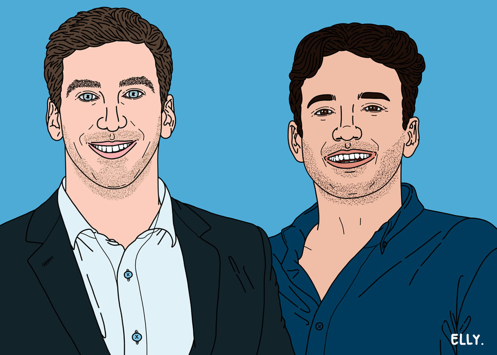 James Mirras and Alex Esposito, Co-Founders of The Free Ride