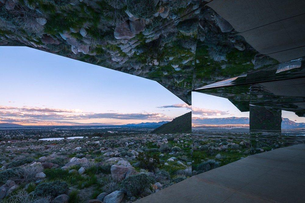 doug-aitken-mirage-mirrored-sculpture-cabin-palm-springs-california-6.jpg