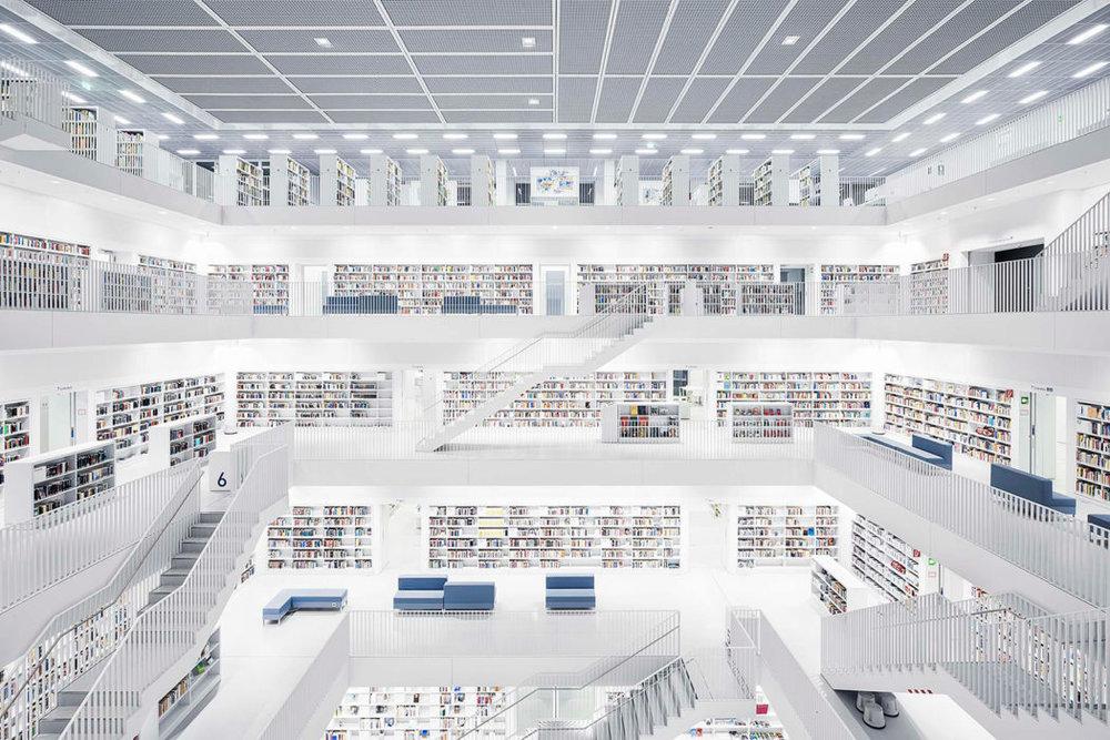 Music Section, Stuttgart City Library