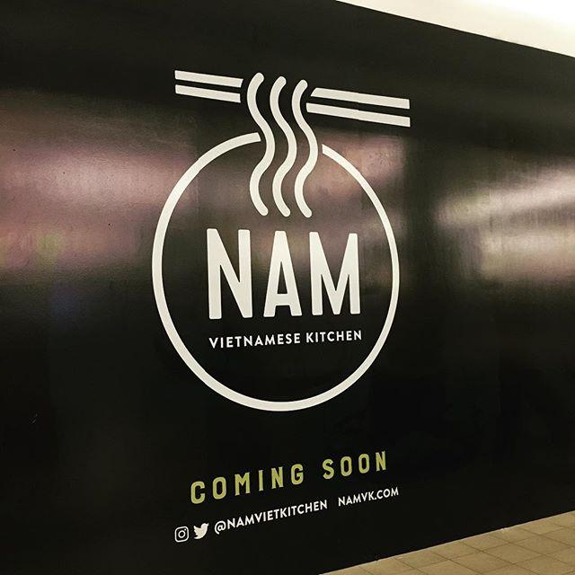 Exciting things are happening...#namvk #cf #marketmall #yyc #vietnamesefood