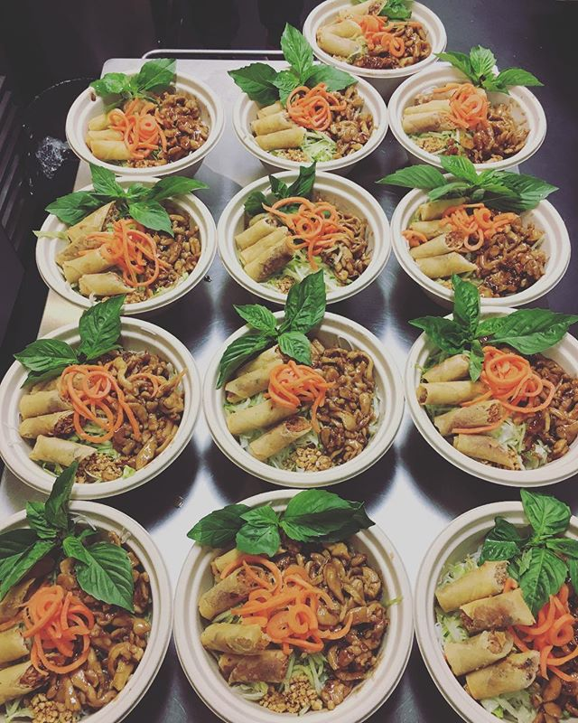 Did you know we cater? Let us be apart of your next meeting/event! #namvk #yyceats #vietnamesefood