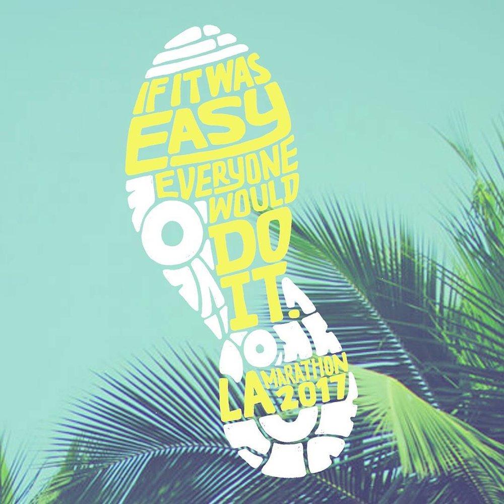 LA Marathon 2017 - Print Design