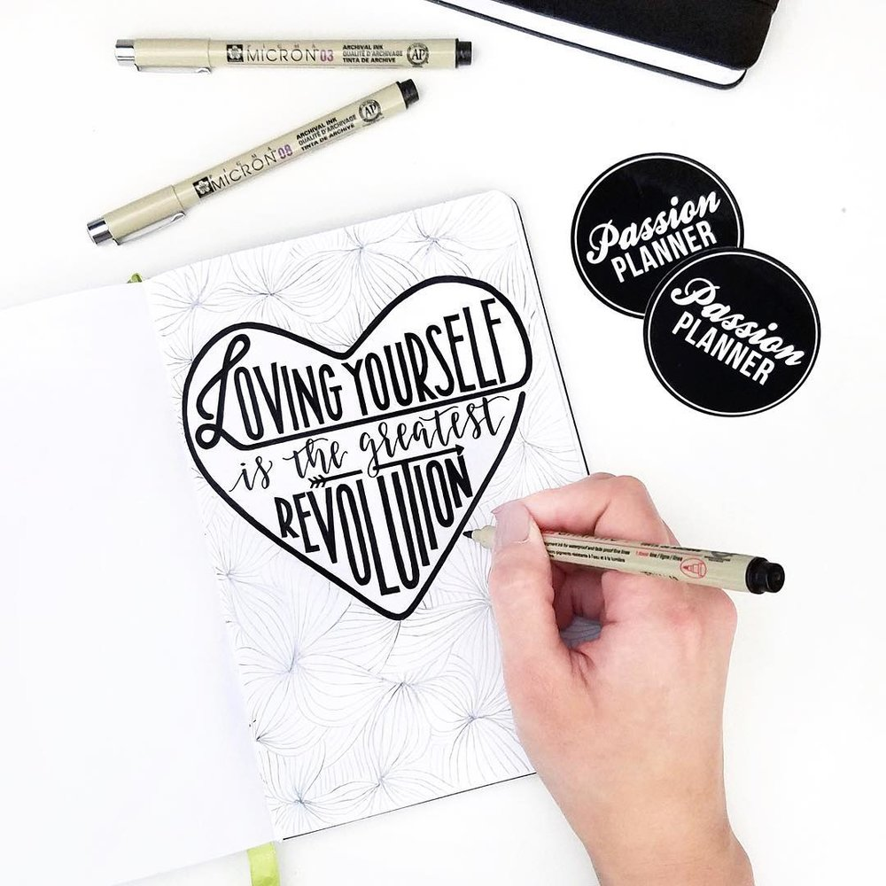 Passion Planner - #LoveStartsWithMe Campaign