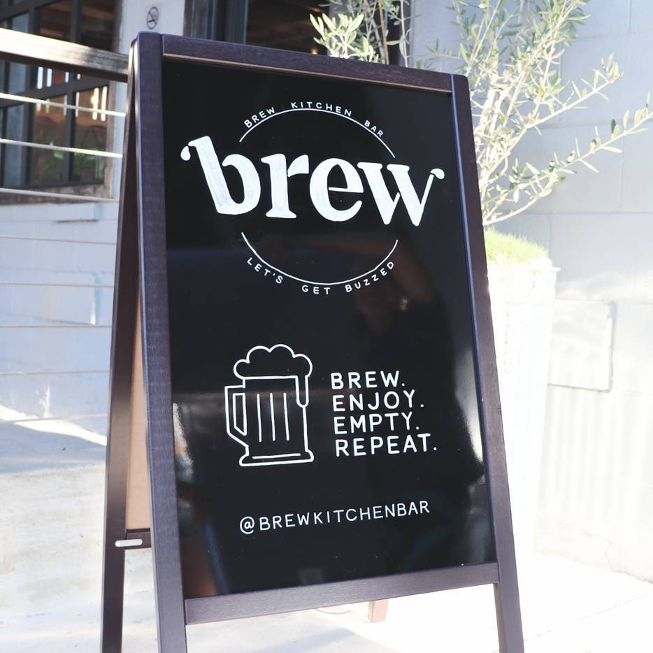 Brew Kitchen and Bar - Restaurant Signage