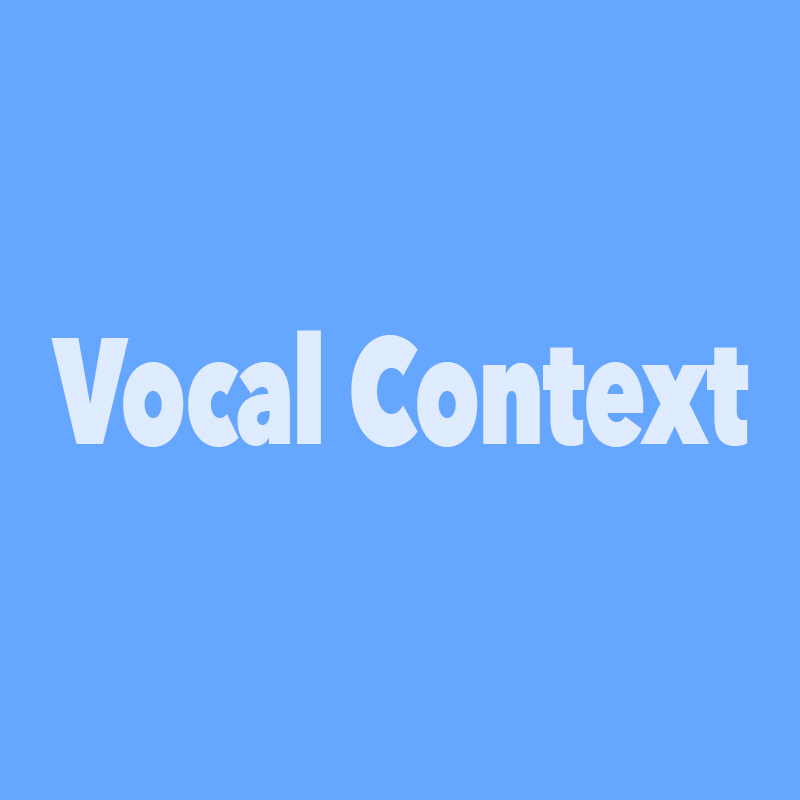 Vocal Context Company Introduction