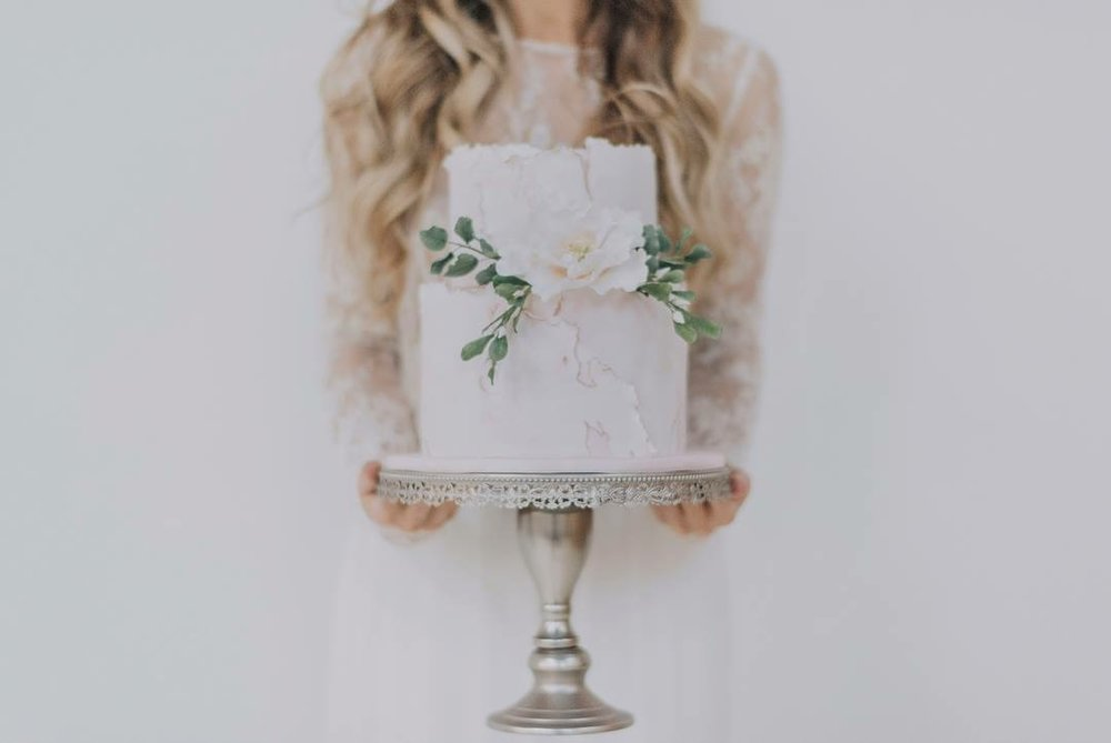 Blushing bride shoot - Featured on White