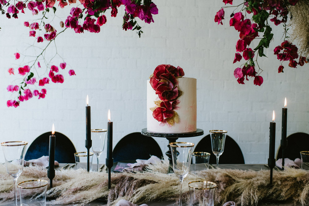 Modern bridal shower - Featured on Nouba