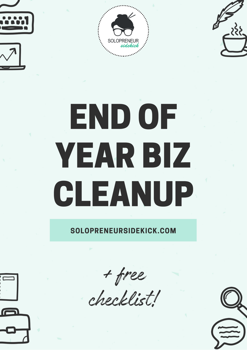 End of Year Biz Checklist