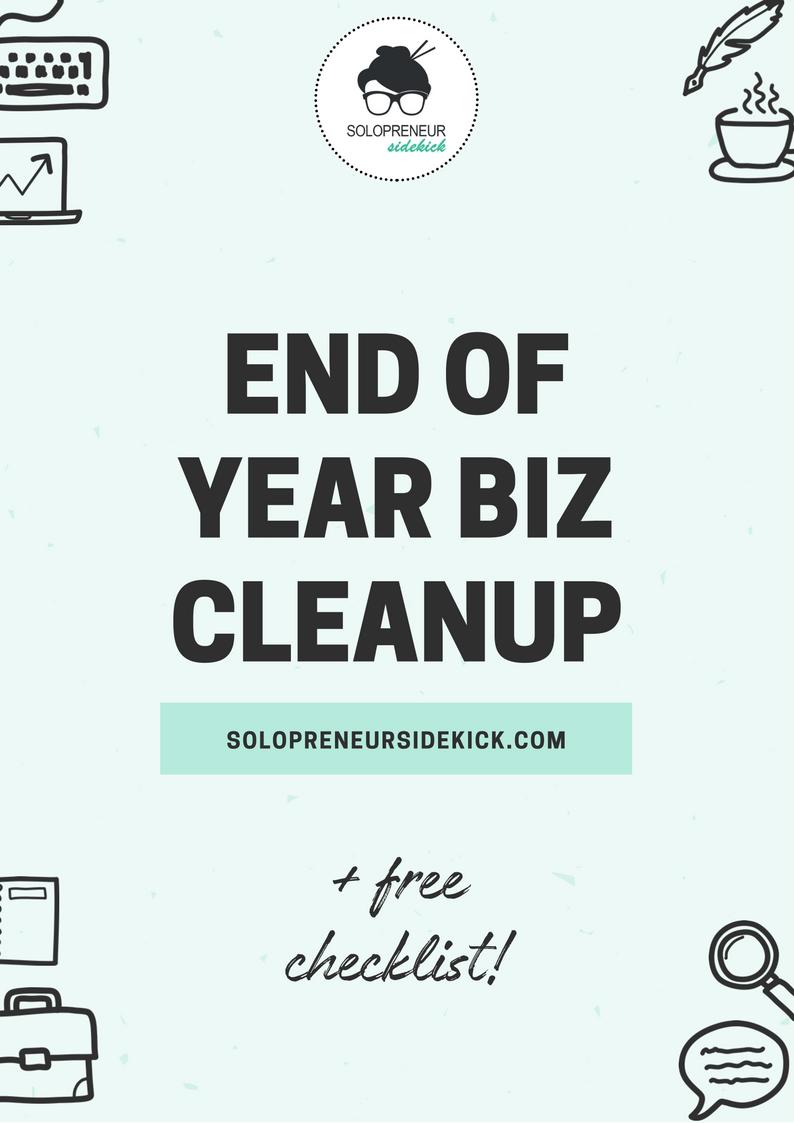 End of Year Biz Checklist