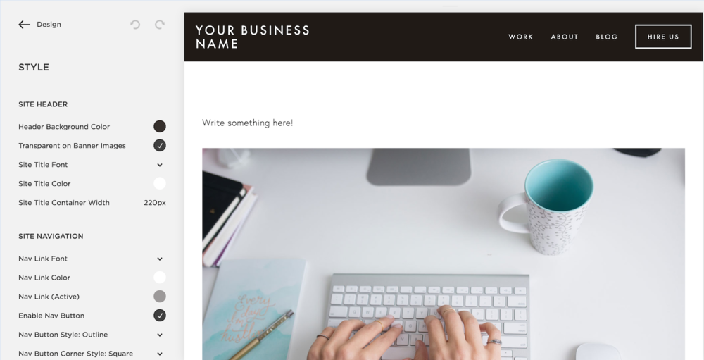 Squarespace Style Editor - How to edit the look of your Squarespace website