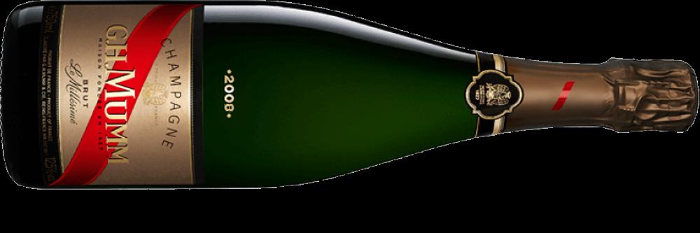 Champagne mumm millesime 2008